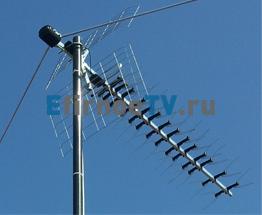 Эфирная всеволновая телевизионная антенна Locus L021.12 - http://ktv24.ru
