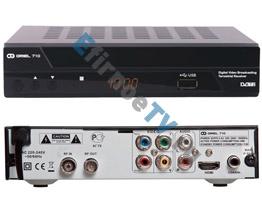 DVB-T2/T ресивер Oriel 710