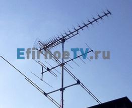 3-х диапазонная эфирная антенна